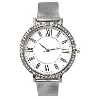Olivia Pratt Women's Thin Mesh-styled Watch