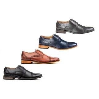 UV Signature Men's Cap Toe Oxfords Dress Shoes