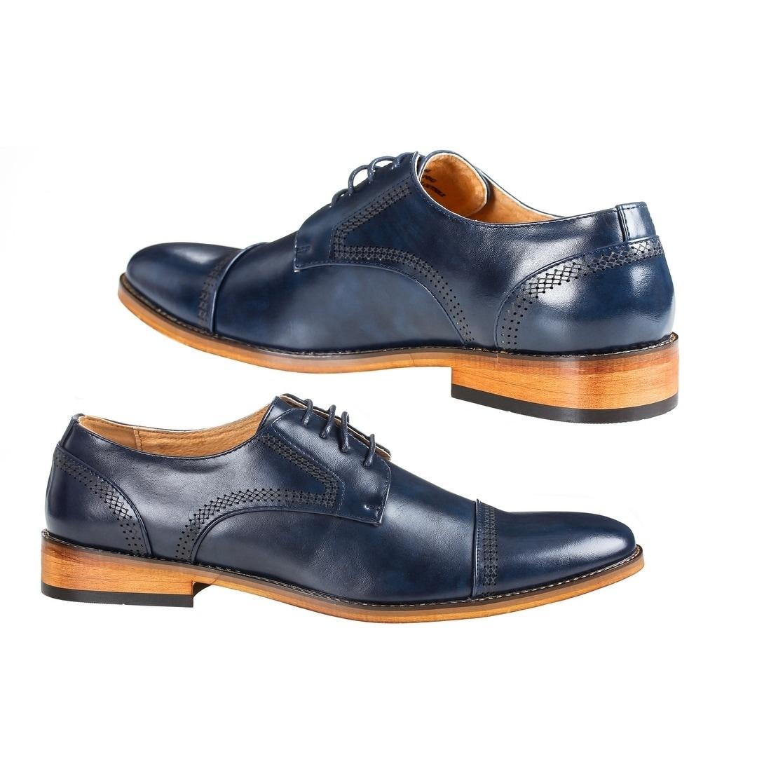 UV Signature Men s Cap Toe Oxfords Dress Shoes  5299a2592dd