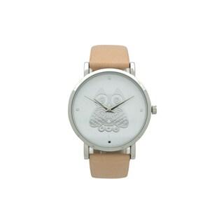 Olivia Pratt Women's Owl Leather Watch