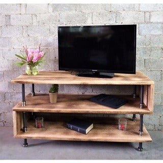 Shop Tucson Modern Industrial Reclaimed Aged Wood Finish