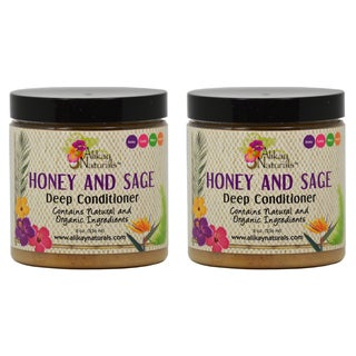 Alikay Naturals Honey and Sage 8-ounce Deep Conditioner (Pack of 2)