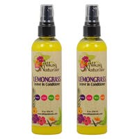 Alikay Naturals Lemongrass 8-ounce Leave-in Conditioner (Pack of 2)