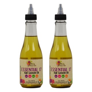 Alikay Naturals Essential 17 Hair Growth 8-ounce Oils (Pack of 2)