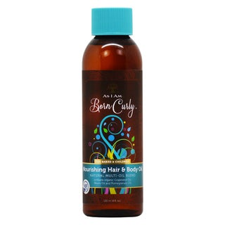 As I Am Born Curly 4-ounce Nourishing Hair & Body Oil