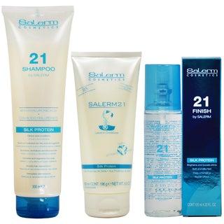 Salerm 21 Silk Protein 3-piece Hair Care Set