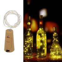 1M LED Wine Bottle Cork Light for Festival Party Decor Light (Bottle NOT Included)