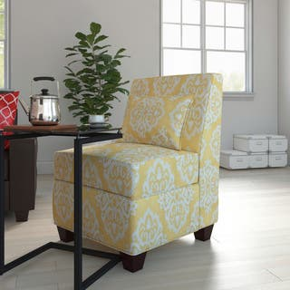 yellow chairs living room. Porch  Den Los Feliz Normandie Large Accent Chair Yellow Living Room Chairs For Less Overstock com
