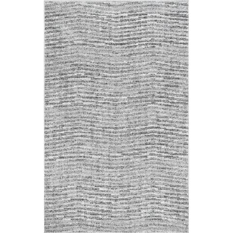 Porch & Den Yamhill Grey Waves Rug