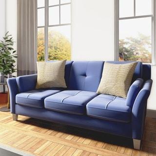 Bushwick St. Nicholas Contemporary Flannelette Sofa