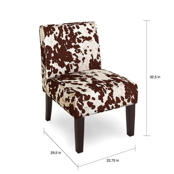 Super Shop The Gray Barn Echo Park Quintero Cowhide Print Fabric Squirreltailoven Fun Painted Chair Ideas Images Squirreltailovenorg