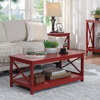 Fantastic Buy Red Coffee Console Sofa End Tables Online At Short Links Chair Design For Home Short Linksinfo