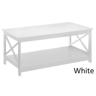 Convenience Concepts Oxford Coffee Table (Option: White)
