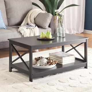 Copper Grove Cranesbill X-base Coffee Table