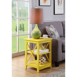 The Gray Barn Pitchfork X-base End Table