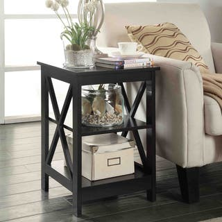 Copper Grove Cranesbill X-base End Table