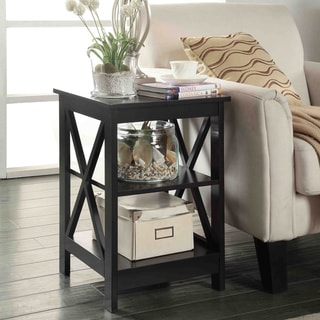 The Gray Barn Pitchfork X Base End Table