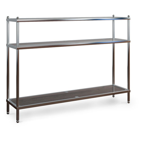 Silver Orchid Farrar Console Table   Silver by Silver Orchid