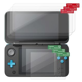 Insten Anti-Scratch Clear Screen Protector Guard Film Shield Cover for New Nintendo 2DS XL (Pack of 3)