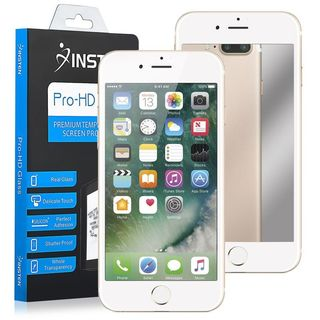 Insten Mirror 9H Hardness Tempered Glass 3D Full Coverage Screen Protector Film Guard for Apple iPhone 7 Plus