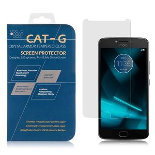 Insten 0.33mm Clear 9H hardness Tempered Glass Screen Protector Guard Film for Motorola Moto E4