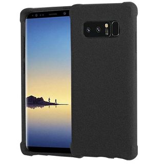 Insten Black TPU Rubber Candy Skin Case Cover For Samsung Galaxy Note 8