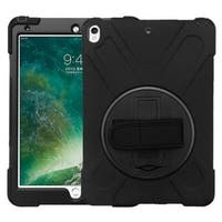 Insten Black Hard Snap-on Dual Layer Hybrid Case Cover with Stand For Apple iPad Pro 10.5""