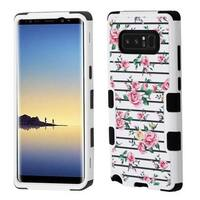 Insten Multi-Color Fresh Roses Tuff Hard Snap-on Dual Layer Hybrid Case Cover For Samsung Galaxy Note 8