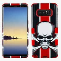 Insten Multi-Color Union Jack Skull Tuff Hard Snap-on Dual Layer Hybrid Case Cover For Samsung Galaxy Note 8