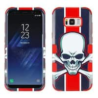 Insten Multi-Color Union Jack Skull Tuff Hard Snap-on Dual Layer Hybrid Case Cover For Samsung Galaxy S8