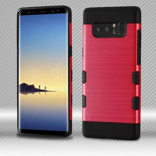 Insten Hard Snap-on Dual Layer Hybrid Brushed Case Cover For Samsung Galaxy Note 8