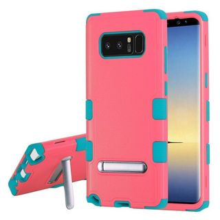 Insten Hard Snap-on Dual Layer Hybrid Case Cover with Stand For Samsung Galaxy Note 8