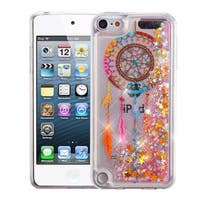 Insten Multi-Color Dreamcatcher Quicksand Glitter Hard Snap-on Dual Layer Hybrid Case For Apple iPod Touch 5th Gen/ 6th Gen