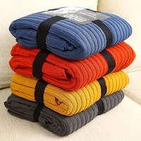 Luxurious fine Cotton Oversized Rib Knit Throw