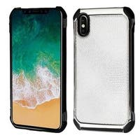 Insten Hard Snap-on Dual Layer Hybrid Case Cover For Apple iPhone X