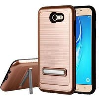 Insten Hard Snap-on Dual Layer Hybrid Case Cover with Stand For Samsung Galaxy Halo/ J7 (2017)/ J7 Perx/ J7 Prime/ J7 Sky Pro
