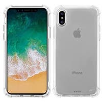 Insten Clear TPU Rubber Candy Skin Case Cover For Apple iPhone X