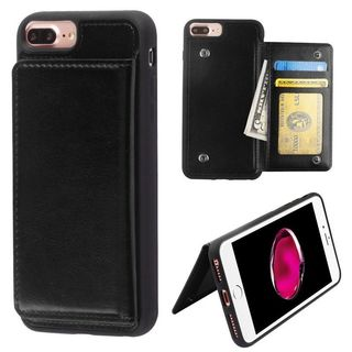Insten Leatherette TPU Case Cover Wallet with Stand/ Wallet Flap Pouch/ Photo Display For Apple iPhone 6 Plus/ 6s Plus/ 7 Plus