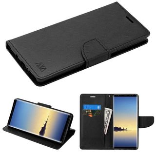 Insten Hard Snap-on Case Cover with Stand/ Card Slot For Samsung Galaxy Note 8
