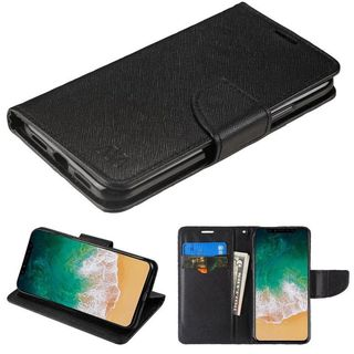 Insten Leatherette Case Cover with Stand/ Wallet Flap Pouch For Apple iPhone 8