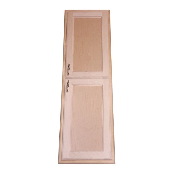 Christopher Recessed Solid Wood Two Door Medicine Storage Cabinet