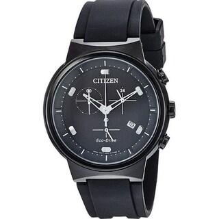 Citizen Eco-Drive Paradex Rubber Chronograph male Watch AT2405-01E