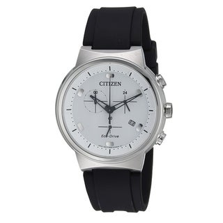 Citizen Eco-Drive Paradex Leather Chronograph male Watch AT2400-05A