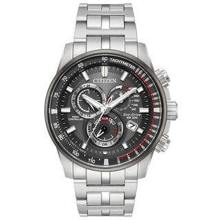 Citizen Eco-Drive Stainless Steel Chronograph male Watch AT4129-57H