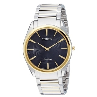 Citizen Eco-Drive Stiletto Two-Tone male Watch AR3074-54E