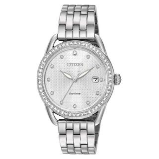 Citizen Eco-Drive Stainless Steel Ladies Watch FE6110-55A