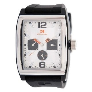 BOSS ORANGE Black Rubber male Watch 1512685