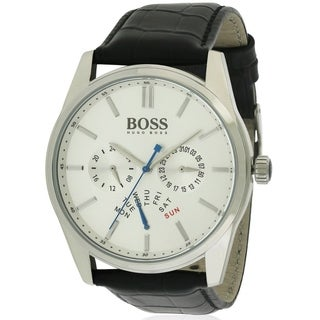 Hugo Boss Heritage Leather male Watch 1513123