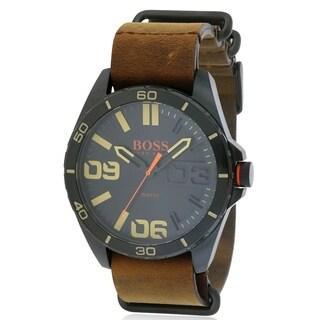 Hugo Boss Leather male Watch 1513316