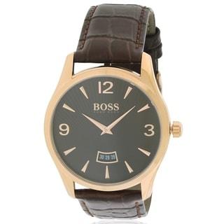 Hugo Boss Leather male Watch 1513426